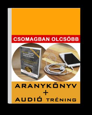 Aranykönyv + Audió tréning