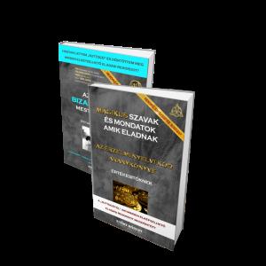 Üzleti Bizalomépítés Mesterkönyve + Mágikus szavak amik eladnak (Aranykönyv)